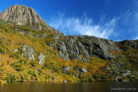 Tasmania's Cradle Mountain, Autumn