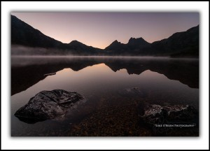 Cradle Mountain, Rocks, Dawn