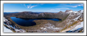 Dove Lake and Cradle Mountain from Marions Lookout