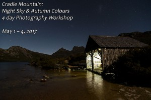 Cradle Mountain Night Sky Photography Workshop