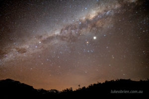 Milky Way at Cradle Mountain, Tasmania
