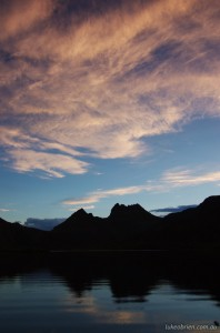 Dusk at Dove Lake - Cradle Mt Photography Tours