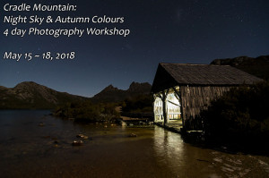 Cradle Mountain Photography Workshop Autumn 2018