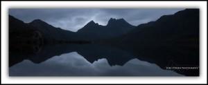 P4: Cradle Mt (dusk silhouette)