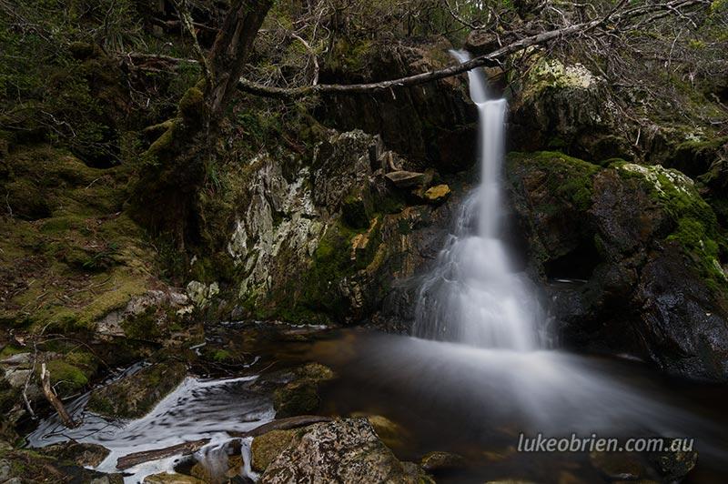 Cradle mountain waterfalls luke obrien photography crater falls at cradle mountain tasmania altavistaventures Gallery