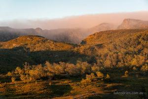Morning light on Crater Peak