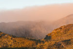 Sunrise and mist at Cradle Mountain