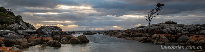 The Crepuscular Bay of Fires