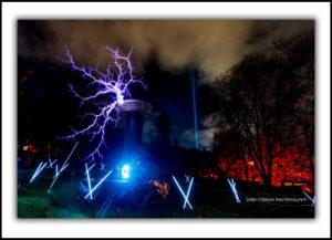 Dark Mofo Tesla Coil & Spectra