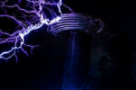 dark path tesla coil