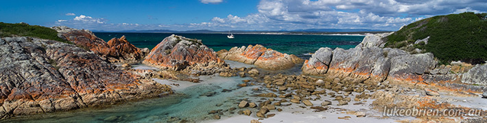 Bay of Fires Tasmania: Eddystone Point