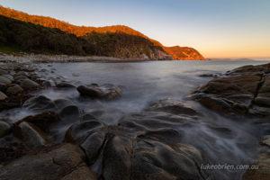 Dawn Bluestone Bay Freycinet Tasmania