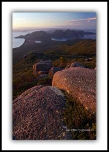 Tasmanian landscape photography - The Hazards & Wineglass Bay