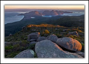 Mt Graham, Freycinet National Park.