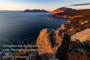 Sunrise at Cape Tourville, Freycinet Photography Workshop.