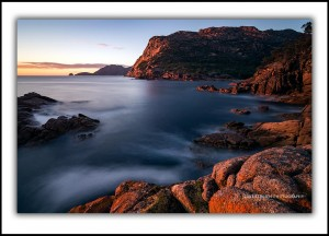 Sleepy Bay at sunrise, Freycinet National Park