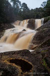 harridge falls north east tasmania