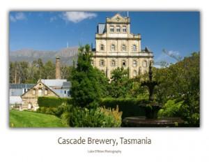 Postcards - Cascade Brewery, Hobart