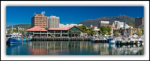 Hobart Waterfront Scene