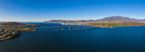 The Tasman Bridge, Hobart & Mt Wellington