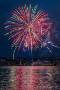 new years eve fireworks tasmania