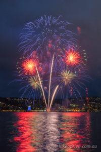 new years eve fireworks hobart