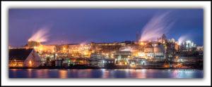 Hobart Zinc Works, Night