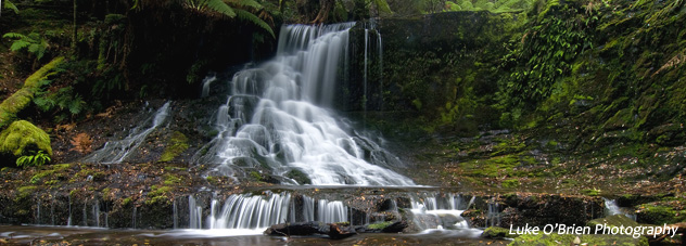 Tasmanian waterfalls - Horseshoe Falls