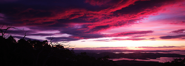 Sunrise from Mt Wellington