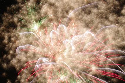 Fireworks, Fukushima