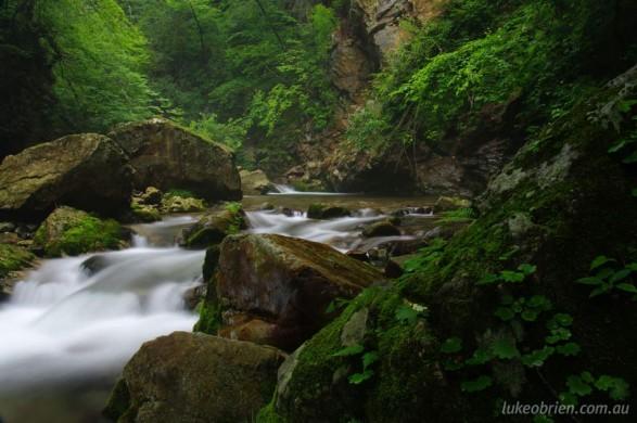 Okunikkawa River Gorge, Miyagi Prefecture