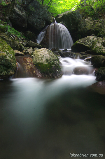 Waterfall near Endougataki, Fukushima