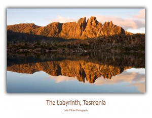 Tasmanian photo cards: The Labyrinth