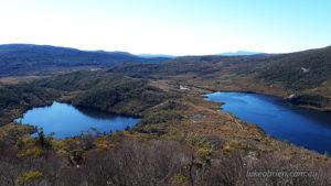 Lake Lilla and Dove Lake