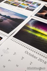 landscape photography calendar 2018