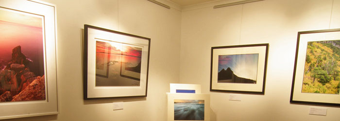 Luke O'Brien's Tasmanian photography gallery, Hobart