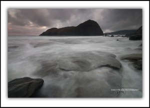 Tasmanian photography: Lion Rock, South Coast