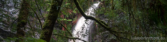 Lovers Falls, Tarkine