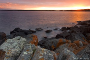 Sunrise from Low Head, Tasmania