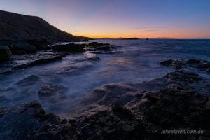 long exposure seascape photography maria island
