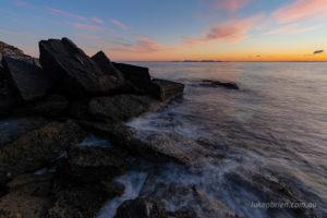 View north to Shouten Island (Freycinet)