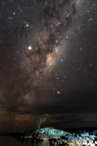 Bay of Fires Night Sky Photography