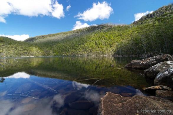 Bushwalking in Tasmania: Lake Nicholls - Mt Field East Day Walk