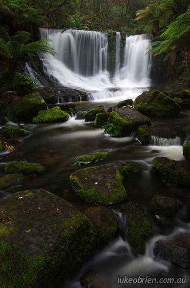 Horseshoe Falls - A beautiful Tasmanian photography location