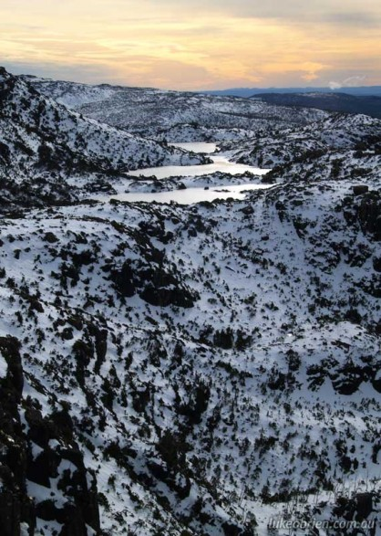 Winter in Tasmania: Tarn Shelf, Mt Field