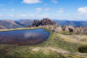 Mt Ossa summit Cradle Mountain Huts guided walk