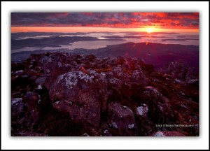 L39: Sunrise, Mt Wellington