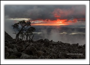 Mt Wellington Sunrise Tasmania