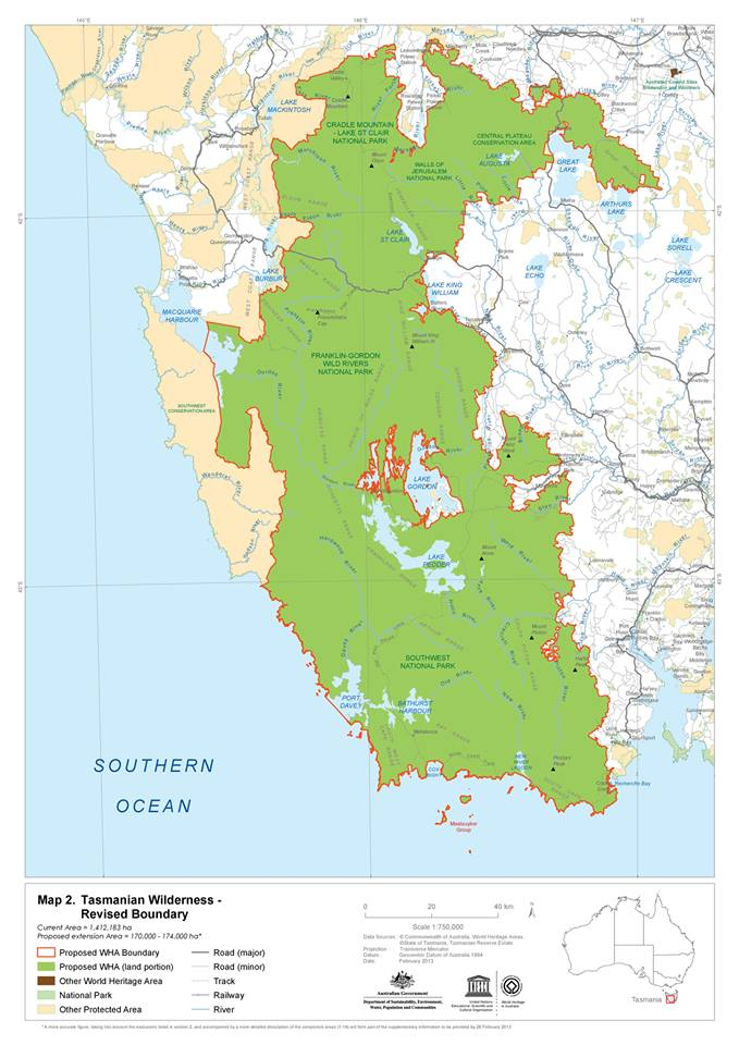 Tasmanian Wilderness World Heritage Area Expanded Luke O Brien