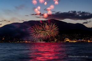 Fireworks from Bellerive last night.